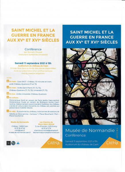 Les chemins du Mont St Michel