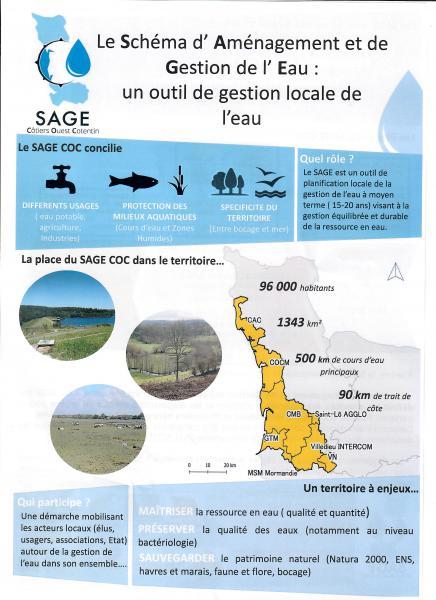 Schema d'Aménagement et de Gestion des Eaux des Côtiers ouest Cotentin (SAGE COC)