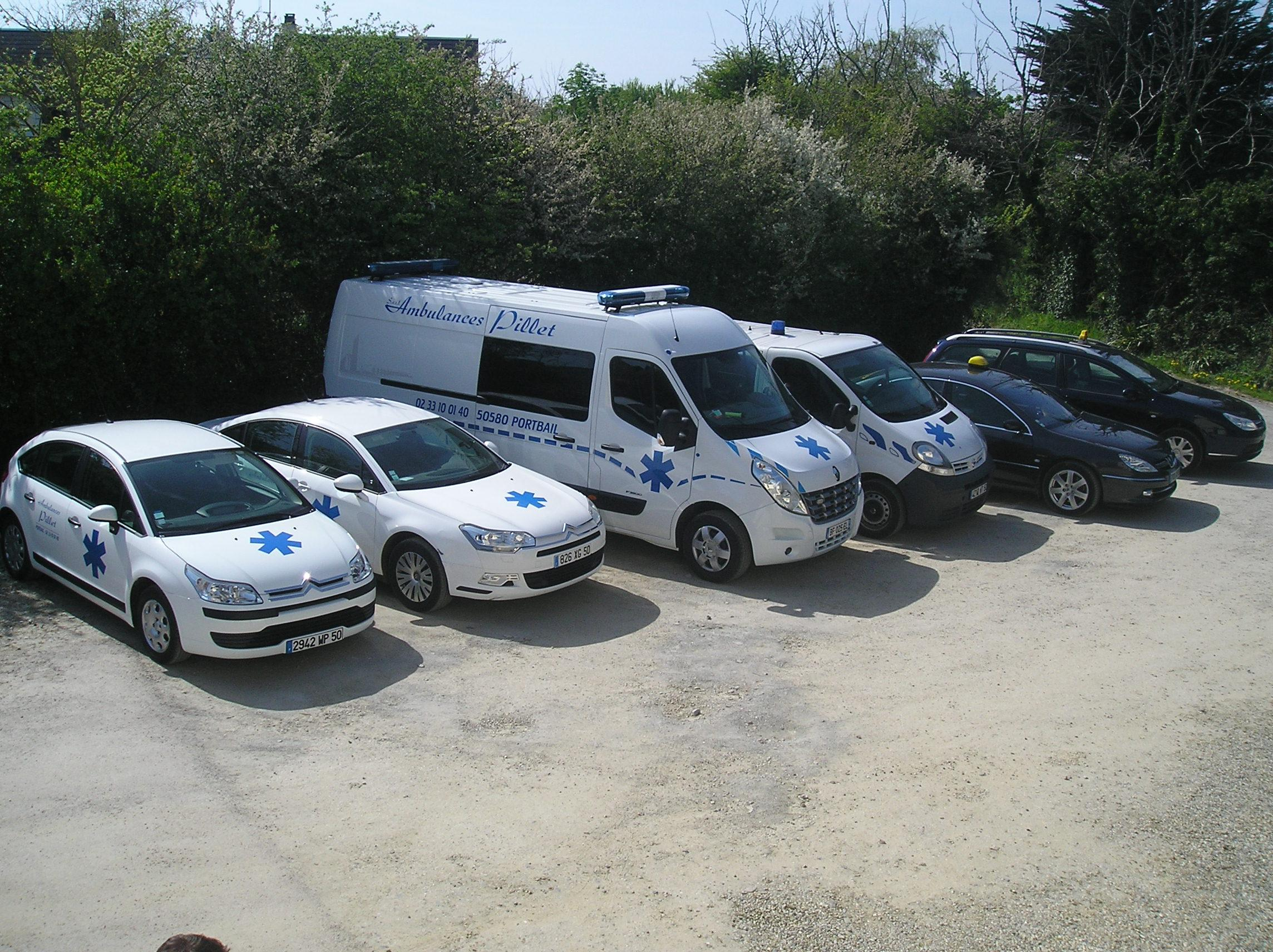 AMBULANCES PILLET SARL