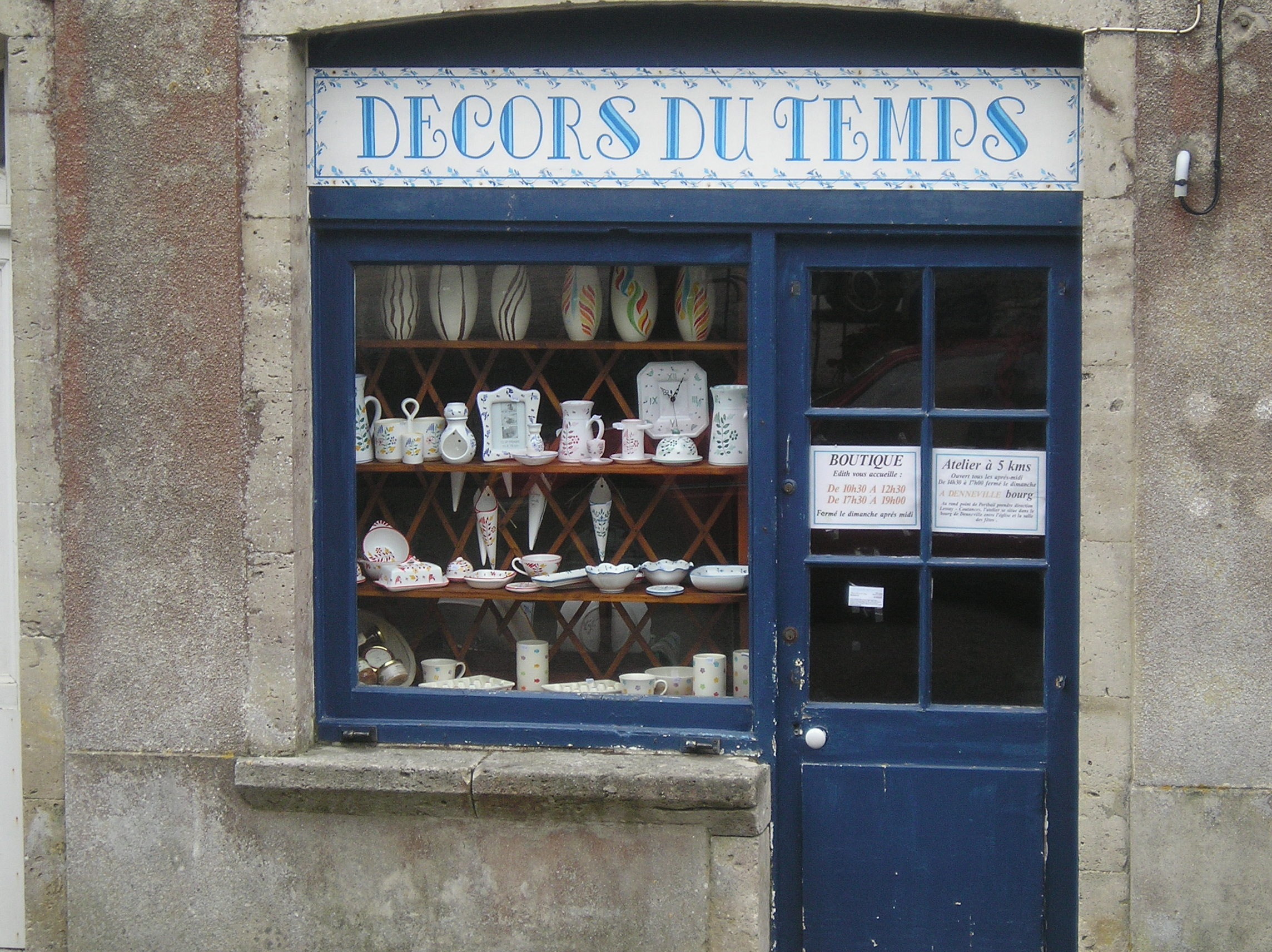 DECORS DU TEMPS