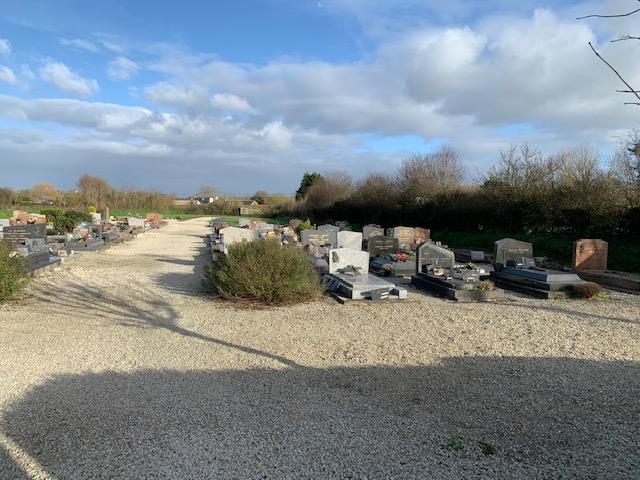nouveau cimetière de Denneville