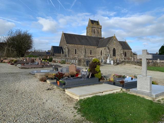nouveau cimetière de St Lô d'Orville