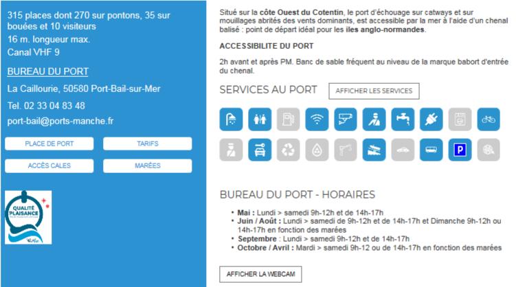 Port de Port-Bail-sur-Mer